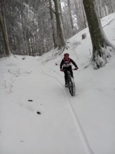 Fat bike, Fabio Cicognani